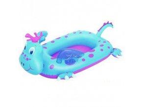 Nafukovací člun drak modrý