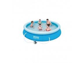 Samorozkládací bazén O 366cm včetně filtrace