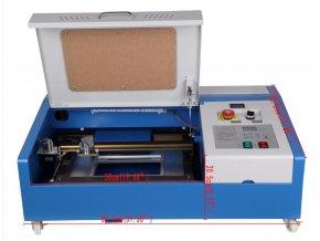 40W CO2 USB laserový gravírovací řezací stroj