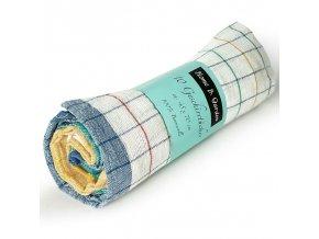 Utěrky ze 100% bavlny - sada10 kusů