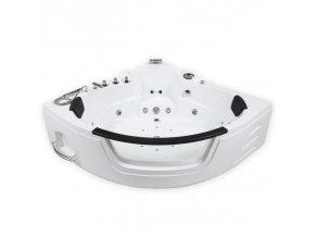Luxusní hydromasážní vířivá whirlpool vana XL