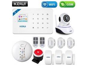 Bezdrátový alarm s WiFI a detekcí pohybu WG3