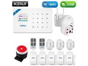 Bezdrátový alarm s WiFI a detekcí pohybu WG4