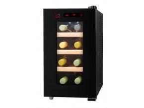 Chladnička na víno MEDION MD 16703 Černá 8 lahev/lahve A+