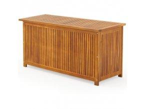Dřevěná truhla z akátového dřeva 117 cm