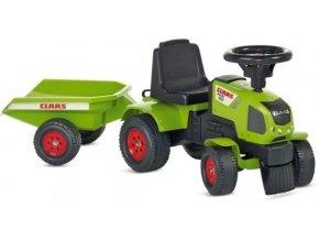 Claas Traktor z naczepka 1