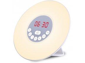 3v1 noční lampa, digitální hodiny a budík