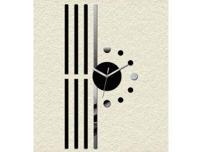 Designové nástěnné hodiny Line
