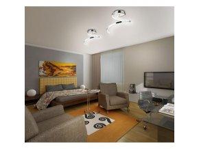 Designový LED lustr Amfractus