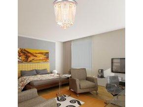Křišťálový skleněný stropní lustr Orseo Treobis Ø 45cm