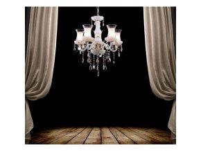 Křišťálový skleněný lustr Orseo Margarma