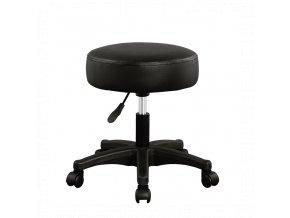 Stolička s čalouněným sedákem otočná nastavitelná