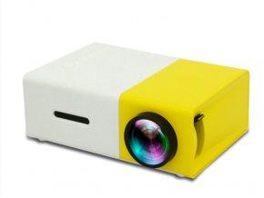 YG300 přenosný LED mini projektor žlutá