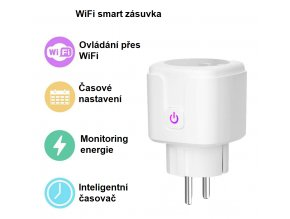 Chytrá zásuvka s WiFi 16A