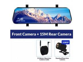 Zpětné zrcátko FHD Dash Cam 4G Android GPS