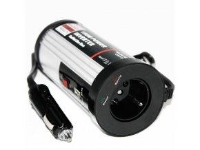 Měnič napětí 12V/230V - 300W USB