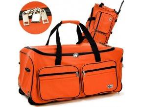 Cestovní taška s kolečky a teleskopickým madlem