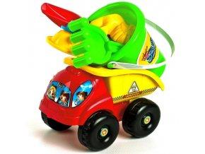 Auto pro děti, dětské autíčko na pískoviště hračka 8 dílů