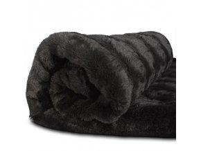 Luxusní sametová přikrývka - deka - přehoz