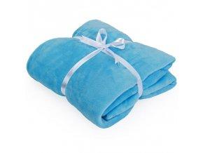 super hřejivá deka modrá 240x220