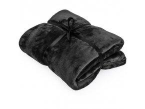 Super hřejivá deka tmavě šedá 280 x 210