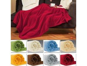 Velká fleecová deka - 200 x 150cm ve dvou barvách