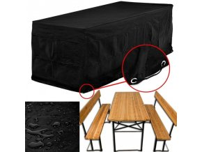 Ochranné pouzdro pro zahradní nábytek 180 x 82 x 135 cm
