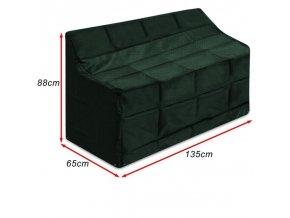 Ochranné pouzdro pro zahradní lavice 135 x 65 x 88 cm