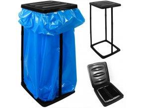 Držák - stojan na odpadkový pytel, popelnice, odpadkový koš