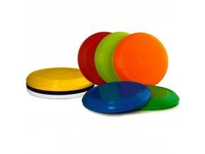 Létající talíř - Frisbee 8 ks