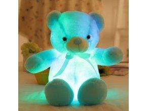Plyšový svítící LED medvěd 30 cm plyšák