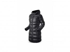 267 damska zimni bunda trimm viola black cerna