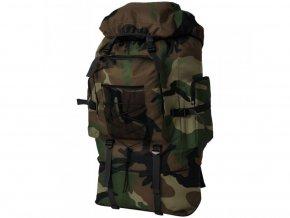 Batoh v army stylu XXL 100 l maskáčový