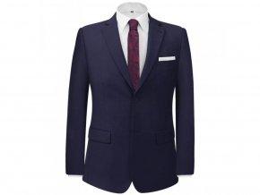 Pánský dvoudílný business oblek námořnická modř, vel. 46