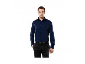 Luxusní pánská modrá košile Vincenzo Boretti