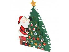 Adventní kalendář Santa Claus
