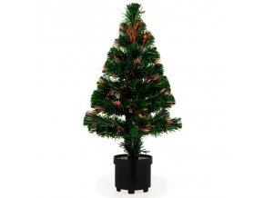 Vánoční dekorační stromek s plynulou změnou barevného osvětlení