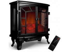 Elektrický krb kamna s imitací ohně