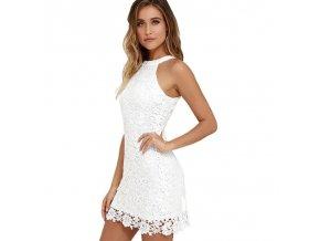 Letní šaty bílé