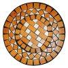 Stůl s mozaikou kovový