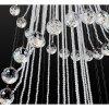 Krásný křišťálový závěsný lustr Orseo O50