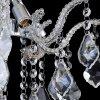 Závěsný křišťálový lustr Orseo Emely O 40 cm