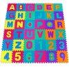 Pěnové puzzle - 86 dílků ABECEDA + ČÍSLA
