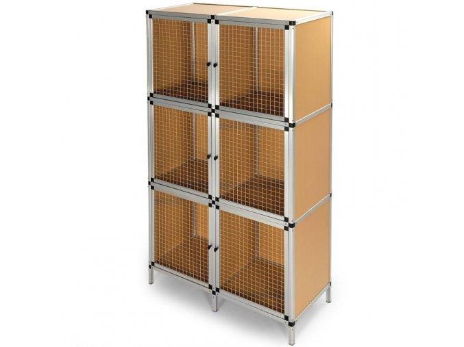 3459 kralikarna boxy na male hlodavce konstrukce z eloxovaneho hliniku