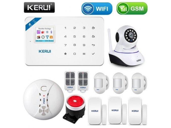 39210 bezdratovy alarm s wifi a detekci pohybu wg3