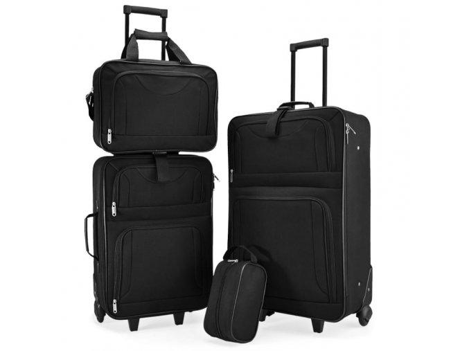 4713 4 cestovni kufry 4 dilny set