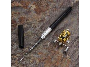 4800 mini prenosny teleskopicky rybarsky prut