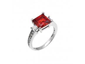 Stříbrný prsten značky Afrodite Ag 925 (Velikost prstenu 49)