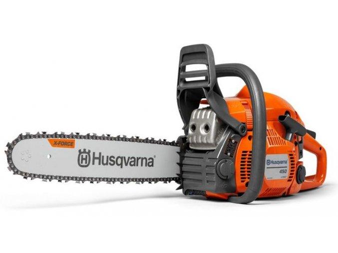 Motorová řetězová pila Husqvarna 450 e-series