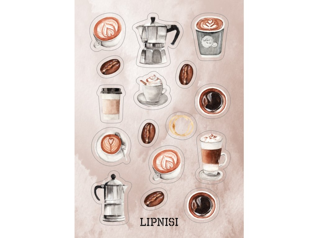 káva k washi pásce